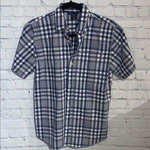 GapKids Boys Plaid Shirt Size XL